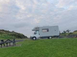 Hatty – Family friendly, fun loving Hymer for hire!