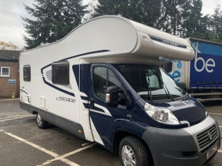 Great 6 berth swift , first class condition central heating.