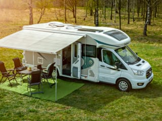 Zorgeloos op stap met Ford Chausson Mobilhome