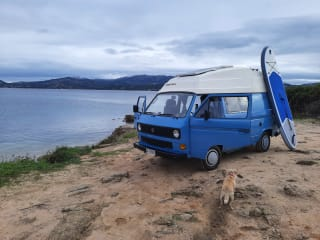 """Theo – Theo - T3 vintage Campervan 1.6 D """"1985"""""""