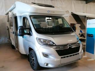 vanaf  juni 2021 – Nieuwe camper :De Sun Living S 70 SL Travel Star Edition