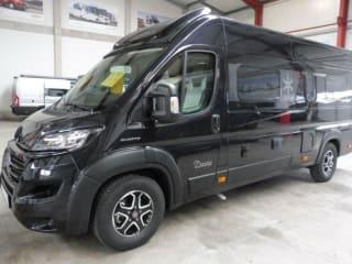 happy travel with Karmann bus
