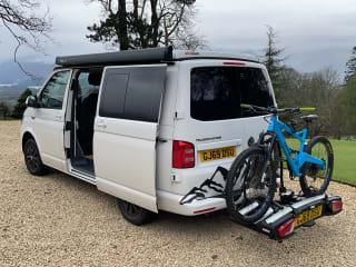Stunning VW Transporter T6 Highline campervan ready for your adventures