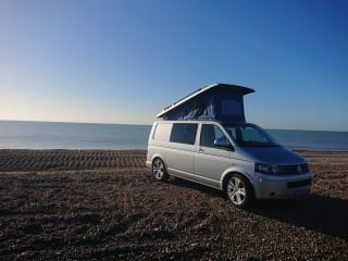 Lady B – Lady Beatrice, VW T5 Transporter built for adventure.