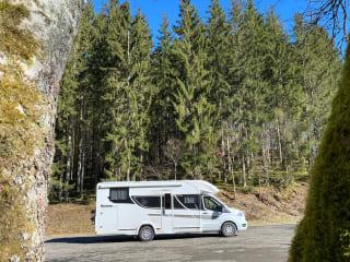 Benimar Cocoon 463 – Splinternieuwe familiemotorhome - Rijbewijs B