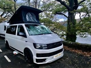 Rachel our Luxury VW T6 camper