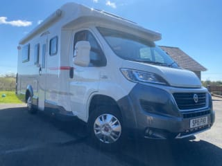 Big Noa – Meet Big Noa - fully equipped 4 berth, 4 belts, family & pet friendly.