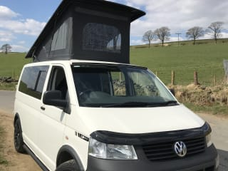 4 berth VW T5 Pop Top Campervan