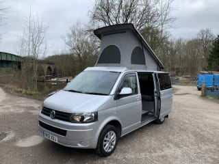 Volkswagen transporter 4 berth camper