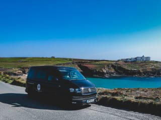 "Morvoren – ""Morvoren"", our luxury VW T6 Highline Campervan with pop top"