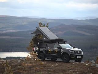 Highland Overland - Shackleton  – Overland Trucks to rent in the Scottish Highlands (Inverness airport )