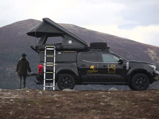 Highland Overland - Tenzing – Overland Trucks to rent in the Scottish Highlands (Inverness airport)