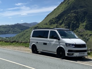 Jock – VW Camper - 4 Berth, Insurance Included