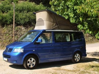 California Skyblue – Fly and Drive - Volkswagen motorhome   4 persons   Portugal, Porto