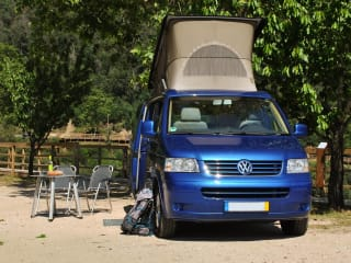 California Skyblue – Fly and Drive - Volkswagen motorhome   4 persons   Lisbon, Portugal