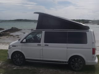 Lucy – Brand new for this season. VW Transporter T6.1 Camper Conversion