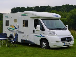Gerty - Spacious Fiat Ducato Chausson Welcome 85