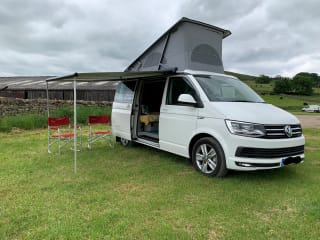 Cal – VW T6 California Ocean (69 plate in beautiful Candy White colour)