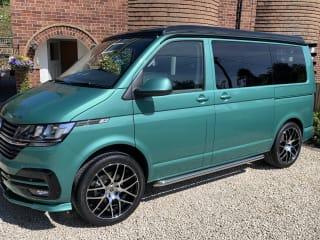 Basil – 2021 VW T6.1 Campervan hire