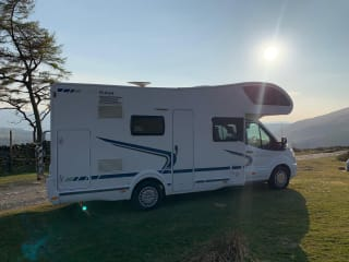 Check out Chakra the Camper!