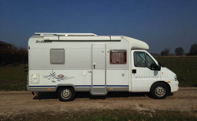 Fiat Dethleff T 5801 – Family Camper enjoy your family holiday!