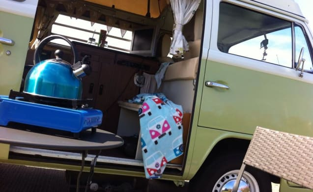Olive – Dolci Campers - Classic Auto Vw Camper
