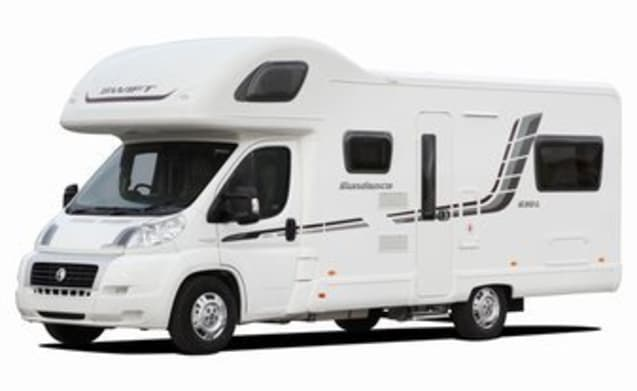 Harris – 6 Bett Low Profile Swift Wohnmobil