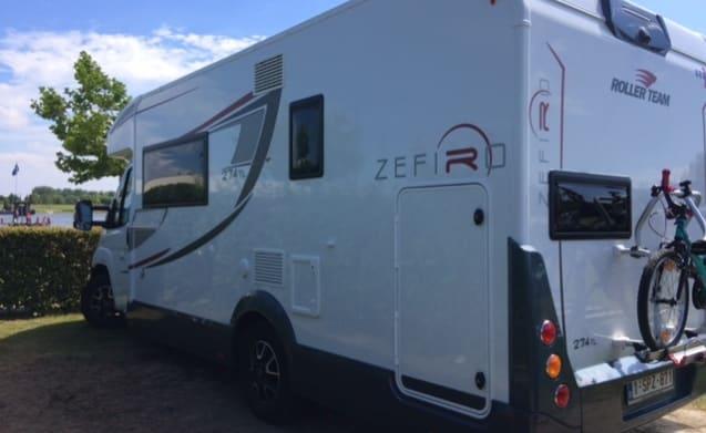 Zeffiro 274TL – Roller team Zefiro bwjr 2017
