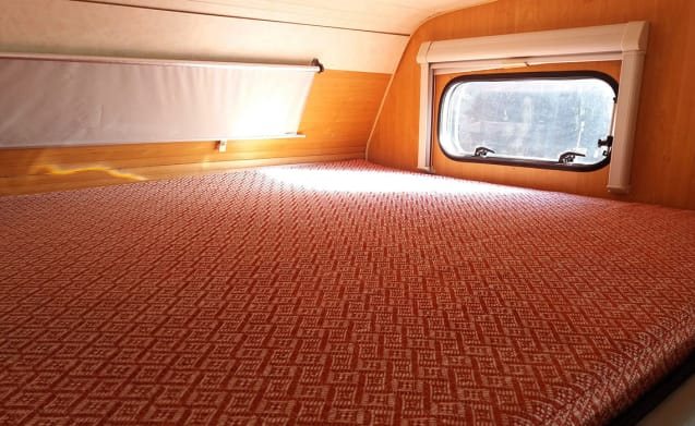 Ericeira  – Hit the road with this beautiful red camper (Located in Portugal)