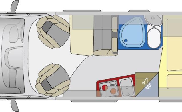 Juice Globecar LWB Two Berth Automatic Gearbox