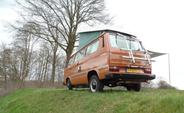 Choco! – Chocolate! Retro holiday bus for the ultimate road trip!