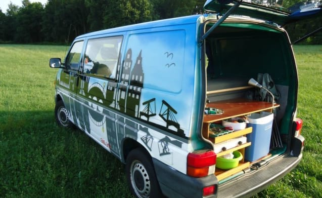 Amsterdam – Amsterdam - Cozy and robust VW T4 campervan