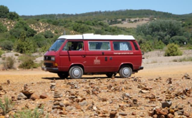 Baingio – Volkswagen T3 con allestimento Westfalia per le tue vacanze in Sardegna