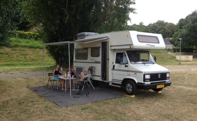 Ideal family motorhome