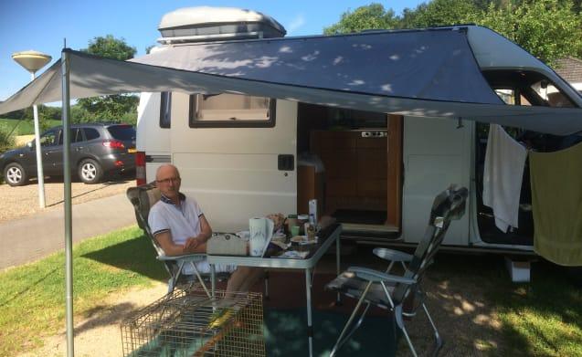 Tough decent and cozy camper