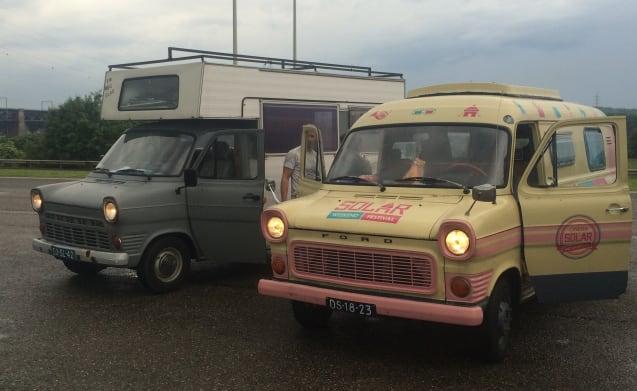 Heidi – Avventuroso & Romantic Classic Ford Transit MK1 Camper - 1972
