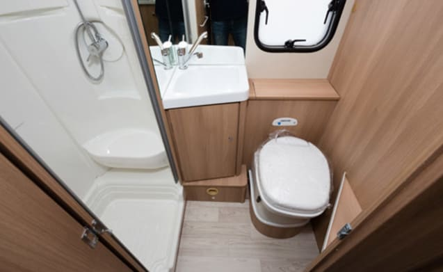 Roller Team 675 6-Posti letto Yorkshire Motorhome