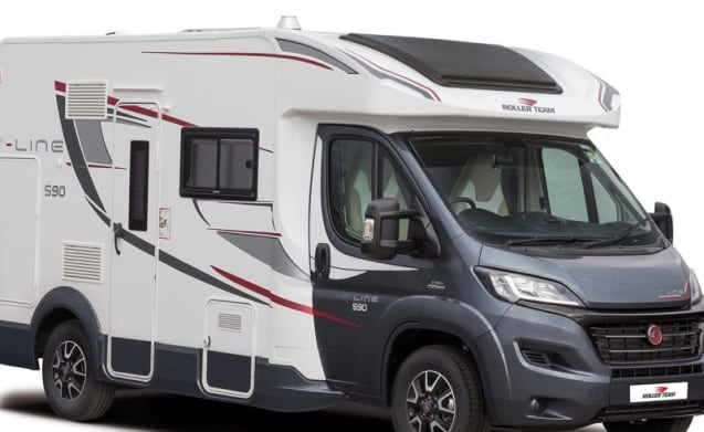 T-Line 590 – Brand New 2017 - Top of the range 4 Berth T-line 590