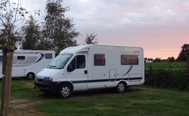 Gobebus – Wonderful camper with French bed only 5.60 m