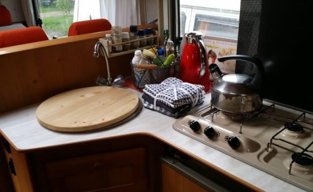 Riviera – Gemütlich, geräumig, aber gemütliche Familien Camper für mehr als 6 Personen