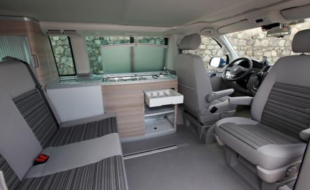 Volkswagen T5 California fourmotion