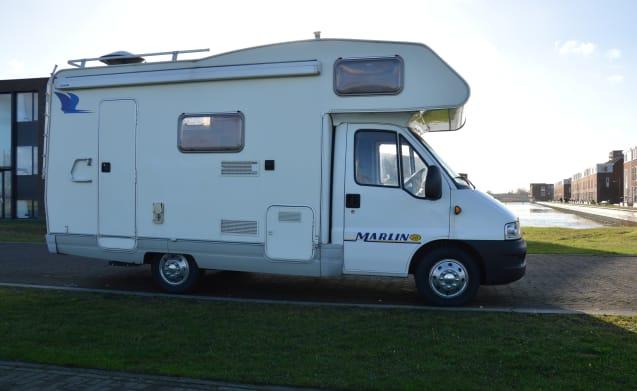 Wijntjes Camper – Molto completo e pratico camper di famiglia, tutto è stato pensato