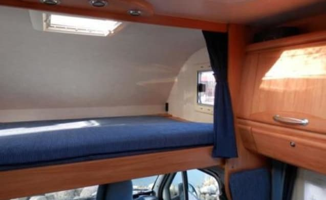 109 – Luxury Adria Coral with motor airco, solar panel, 220V inverter and XL garage