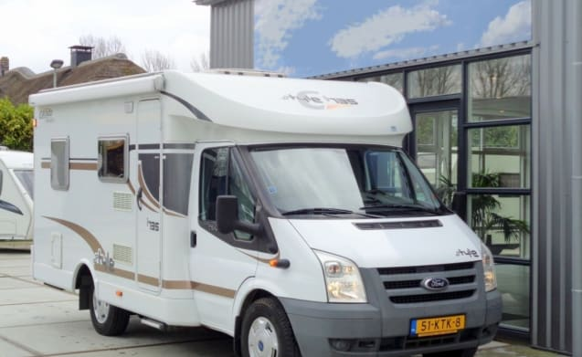 With a discount on vacation? With this camper you can! / BC3