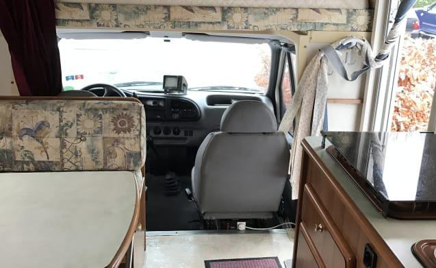 Bobbie  – 6 person Ford Rimor camper