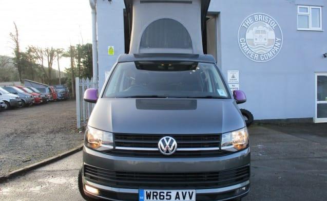 Louis - A STRIKING GREY VW T5.1 (2015) 140BHP