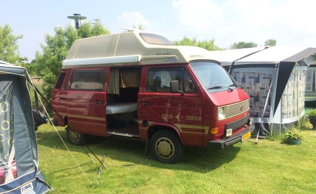 Volkswagen bus VW T3 Westfalia 4p delicious nostalgic camper!