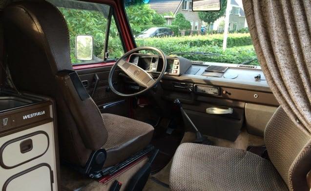 Volkswagen minibus VW T3 Westfalia 4p campo nostalgico!