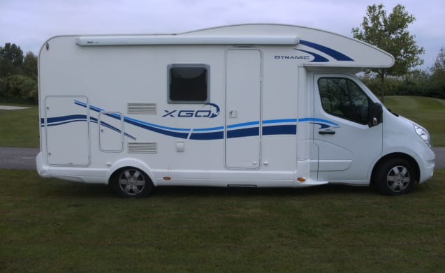 With your pet on vacation? With this camper you can! / BC3