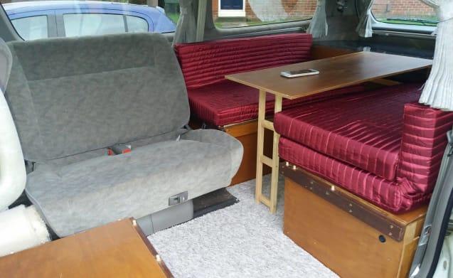 Compact campervan to visit Peak District, Lakes, Snowdonia